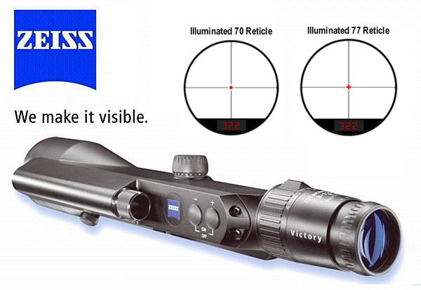 Zeiss Victory ranger finder scope